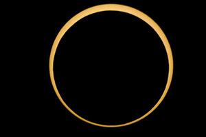 本月26日上演金環日食罕見現象 我國全境可觀日偏食