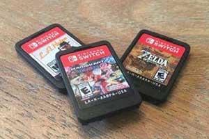 实体党福利!NS或将在明年下半年迎来64G游戏卡带!