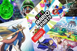 任天堂switch2019游戏下载排行榜 第一方大作不给力