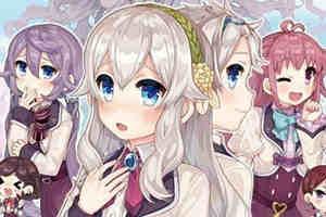 女装大佬游戏《仆姬计划》将于2020年4月23日发售!