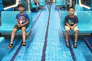 中國地鐵列車里夏天可以游泳?22個走心的城市設計