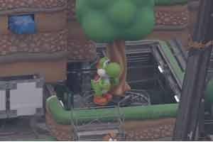 网友分享任天堂公园航拍画面 超可爱大耀西夺人眼球