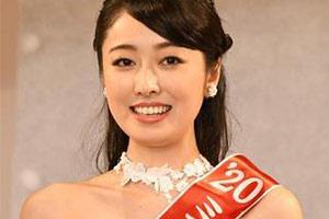 2020年日本小姐冠軍出爐 !系名校學霸3歲開始學芭蕾