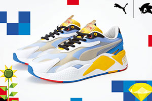 PUMA聯動《索尼克》推出全新款聯名球鞋 帥氣時尚
