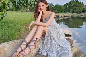 白嫩大長腿誘惑無限!高顏值泰國美女清純美照賞!