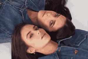 绝代双骄!澳洲超模双胞胎姐妹花双倍快乐美图集!
