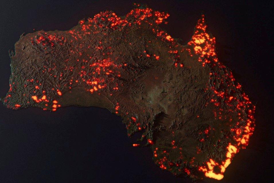 澳大利亚山火肆虐超4个月!或已导致超10亿动物死亡