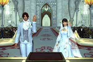 《最终幻想14》将解除服装性别限制 新郎穿婚纱太刺激