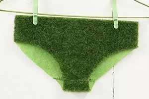 環保內褲!女性半透明牛仔褲!爆笑風騷的奇葩時尚設計