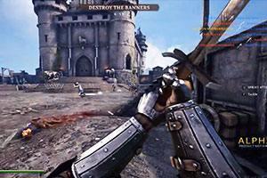 中世纪经济游戏《骑士精神2》「64人攻城战」实机演示