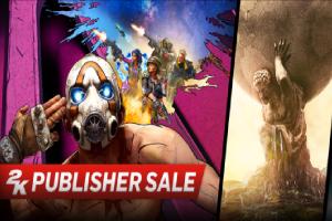 2K开启Steam发行商特卖活动!多款游戏优惠低至2折