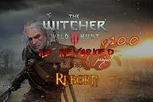 《巫师3》11.0版画面重制MOD下载!画面对比视频公布