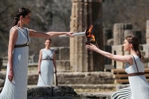 希腊取消东京奥运火炬传递 多国奥委会放弃赴日视察