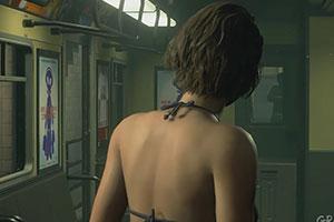 《生化危机3:重制版》吉尔清凉MOD 性感美女打丧尸