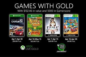 Xbox四月金会员会免游戏:《神鬼寓言》周年纪念版等