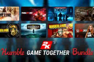 Humble Bundle推2K慈善包 超13款知名游戏仅20美元!