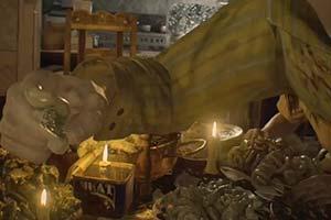 PS官推教你再现《生化危机7》贝克一家的重口晚餐!