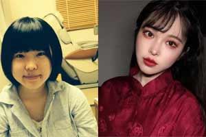 10位日本小姐姐自曝变美前后照片 这反差堪比整容!