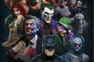 《战神》总监发布16张蝙蝠侠角色形象图 效果超精美!