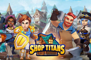 中世纪背景模拟经营游戏《Shop Titans》游侠专题上线
