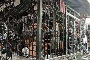 萨尔瓦多监狱惨绝人寰!人如猪仔!25张惊人的照片