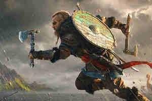 传《刺客信条:英灵殿》将能大战诸神 奥丁托尔授首?