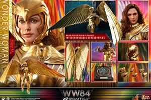 神奇女侠1:6人偶公布:67cm的巨形黄金飞翼超抢眼!