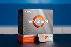 AMD推出重制版3000系列CPU!性能竟超intel十代酷睿