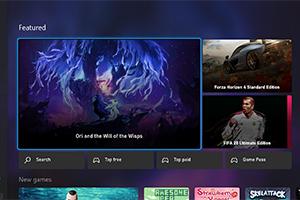 Xbox新商店页面曝光!整体改为深色系 视觉感受柔和