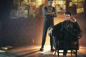 惊悚侦探游戏《夏洛克福尔摩斯第一章》专题站上线