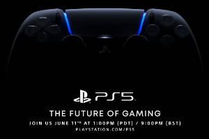 索尼PS5游戏发布会确认6月12日举行 建议佩戴耳机!