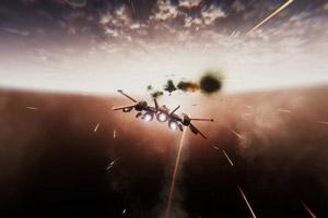 太空题材单人飞行射击游戏《太空缠斗》游侠专题上线