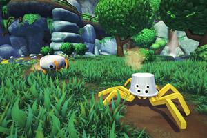 怪诞画风第一人称冒险游戏《Bugsnax》游侠专题上线