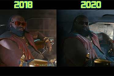 超越无敌的自己!《赛博2077》2018 vs 2020 画面对比