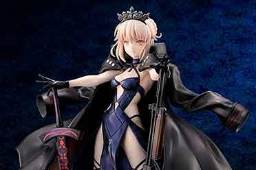 《Fate》泳装黑呆手办公布 清凉露背礼服性感迷人!