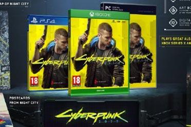 《赛博朋克2077》将采用双封面设计 实体附赠特典公开