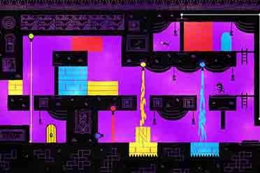 Epic喜加一:充满活力的色彩解谜冒险游戏《HUE》