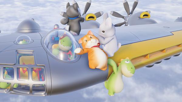 萌系多人对战游戏《动物派对》上架Steam商城页面