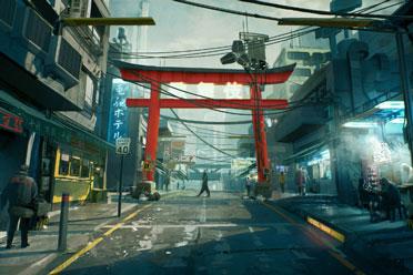 《赛博朋克2077》沃森截图 帮派盘踞的夜之城最穷地