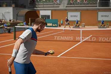 《网球世界巡回赛2》正式公布!今年9月登陆PC平台