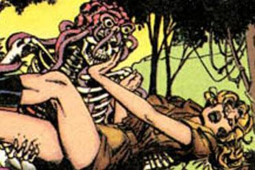 《恐龙快打》鲜为人知的漫画剧情 杰克被注射寄生体