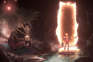 2D风格动作冒险游戏《Towaga:暗影之中》专题站上线