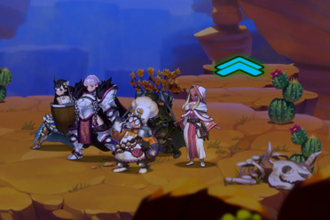 回合制奇幻冒险RPG游戏《艾莉亚纪元战记》专题上线
