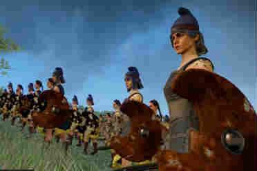 《全面战争传奇:特洛伊》亚马逊阵营简介 全部是女兵