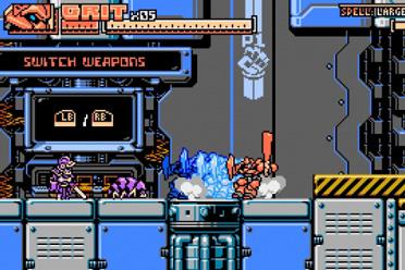 像素风格横版机甲动作游戏《帕拉丁装甲》专题站上线