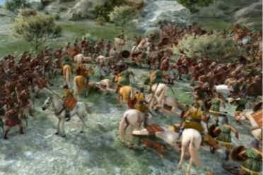 《全战:特洛伊》超长演示 亚马逊女子军团所向披靡