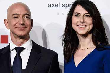 离婚拿走600亿 50岁亚马逊创始人前妻喜提全球女首富