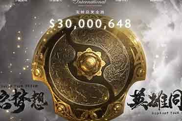 《Dota2》TI10奖金池突破3000万美元 距TI9仅433万