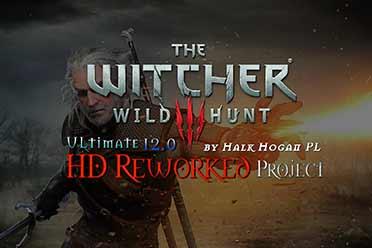 《巫师3》高清重制MOD即将发布!画面对比视频惊艳!