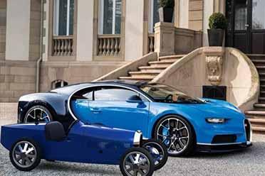 布加迪23.5万元的童车宣布量产:全球限量500台!